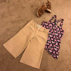 """""""Outfit"""" GUESS Capri Pants & Material Girl Top"""